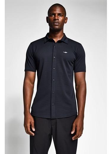 Lescon Siyah Erkek Gömlek 20S-1207-20N Siyah